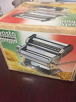 3 IN 1 Stainless Steel Pasta Lasagne Spaghetti Tagliatelle Maker Machine Cutter