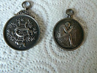 Two Vintage Music Medals