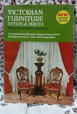 VICTORIAN FURNITURE STYLES & PRICES by Swedberg GREAT INFORMATION!