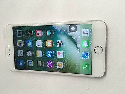 Apple iPhone 6 Plus - 128GB - Silver (Unlocked) - HOME BUTTON ISSUE - 1856
