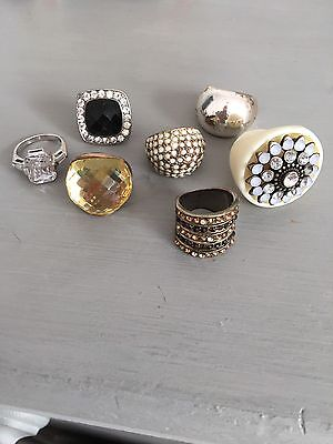 Selection Of 7 Dress Rings