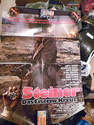 Cross of Iron  1977  Original German CINEMA POSTER ,