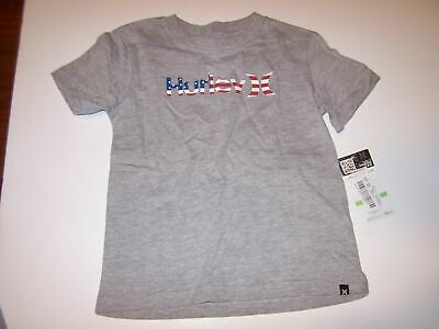 NEW Hurley short sleeve T shirt boys black gray 24M blue 12 mo months