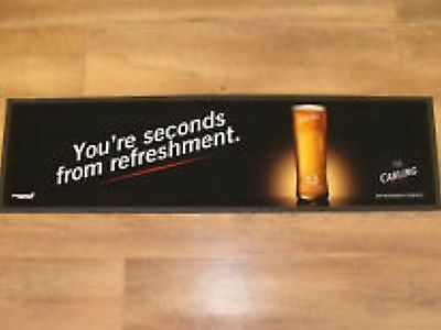 2 x Carling Bar Runner Brand New Lager ManCave Pub Beer Café Gatropub Restaurant