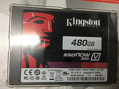 "KINGSTON 480GB SSD 300 V 2.5"" sata REV 3.0 (6GB/s)"