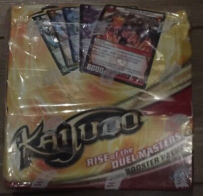 Kaijudo Rise of the Duel Master  Booster Box