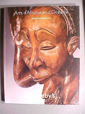 Sotheby 11/20/10 Tribal African Oceania Oceanic antique