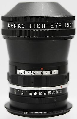 Vintage - Kenko 0.16x 180 Degree Fish Eye Auxilliary Camera Lens 55mm Filter