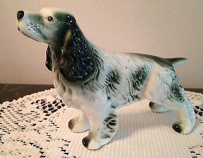 Springer / Spaniel Type Dog Figurine