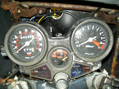 Honda cbx550 clocks