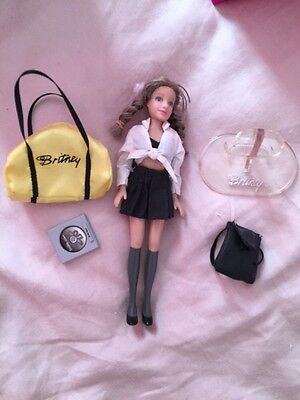 Britney Spears Baby One More Time Doll Rare With Stand