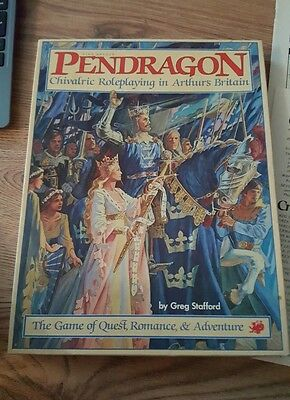 Pendragon game role play collectable vintage rare