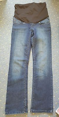Mothercare/blooming marvellous maternity jeans over the bump size 12