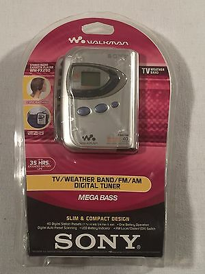 Factory Sealed Sony Walkman Wm-Fx290 Tv/weather Band/fm/am/tuner/cassette - New