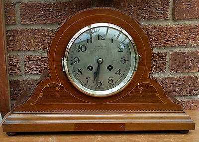 Antique Wood/wooden Mantle Clock