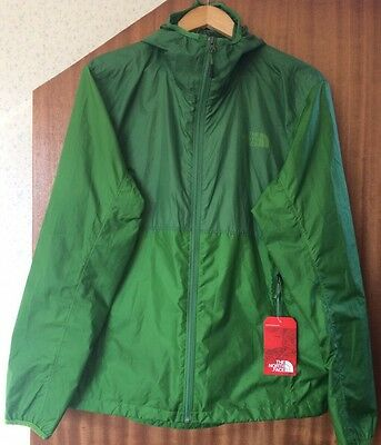 The North Face Flyweight Jacket Kelly Green Size L (RRP £90)