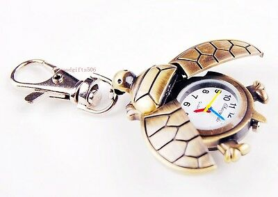 New Cute Sea Turtle boys Girls Lady Children kids Key Ring Chain watch gift DK82