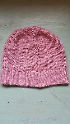 pink beanie hat gloves and scarf set