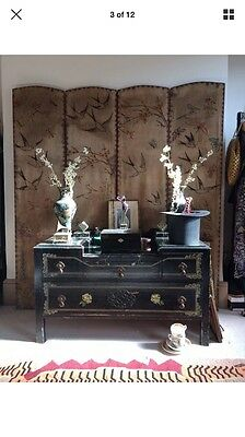 Rare Antique Victorian Screen