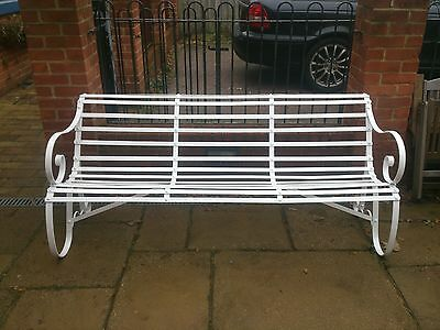 Regency antique park bench, architectural antiques excellent condition.