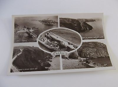 Old Postcard Of Sark, Channel Islands - Multi View