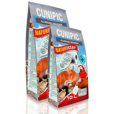 Lecho Papel Cunipic Naturlitter 45 Lt (Formato Industrial) Para Roedores,aves...