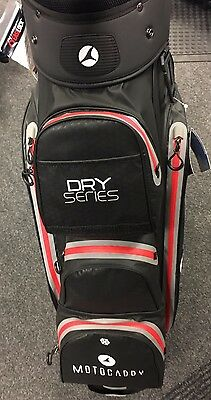 Motocaddy Dry Series Cart Bag Blk/red