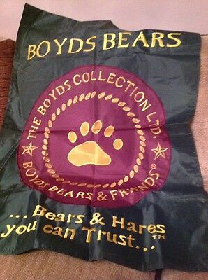 Boyds Bear large sign - NEW