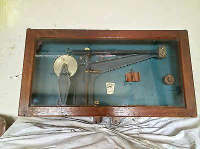 Antique Ribbon Atwood Acceleration Machine From Old English Science School