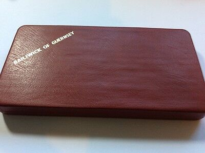 Complete Bailiwick of Guernsey Royal Mint Proof Coin Set 1971