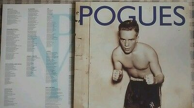 THE POGUES: Peace And Love vinyl LP. 1989 release.