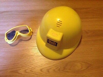 Bob the Builder helmet and goggles