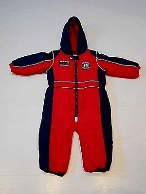 Next Boys Racing Driver Padded Puddle Suit Age 18-24 Months