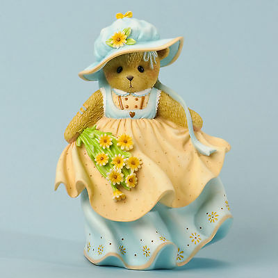 Cherished Teddies*BEAUTIFUL BLESSINGS BEAR*New*Christina*SPRING FLOWERS*4035945
