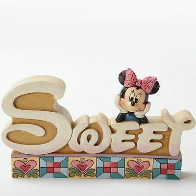 Disney*MINNIE MOUSE-SWEET INSPIRATIONAL*Jim Shore*NEW*Valentine's Day*4032897
