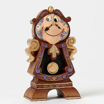 Disney Traditions*COGSWORTH*Jim Shore Figurine*NEW*Beauty & Beast*BELLE*4049621