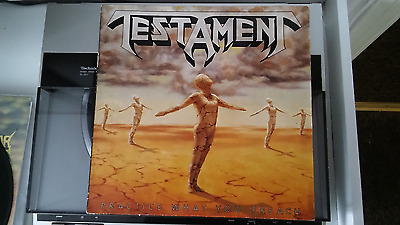 Testament, Practice What You Preach. Original 1988 Vinyl Lp. Thrash, Heavy Metal