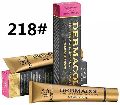 218# New Dermacol Film Studio High Covering Make Up Foundation Hypoallergenic