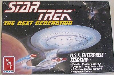 AMT Kit: Starship USS ENTERPRISE NCC-1701-D:  1:1400 scale