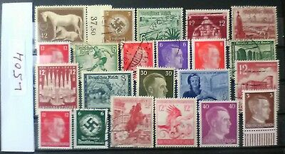 German Ww2 Stamps , Original, 1939 /45