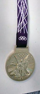 Olympic 2012 London Gold Medal Replica with case, used by Joe Giacomet