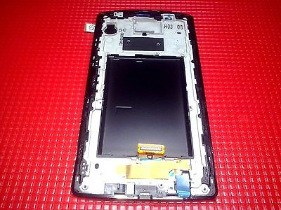 Display Lcd + Touch Screen + Frame Originale Lg G4 H815 Nero In Garanzia