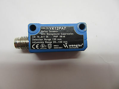 Wenglor YK12PA7 Sensor in Very Good Condition Free Shipping.