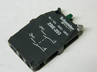 Telemecanique ZBE-203 Two pole N/O contactor