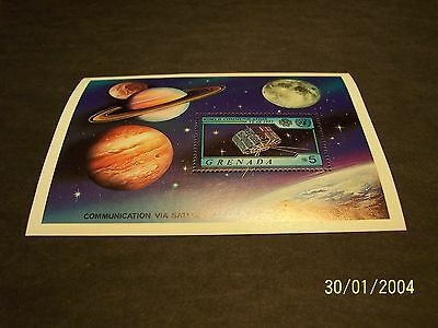 Grenada 1981 World Communications Year Souvenir Sheet MNH-OG fine-very fine!