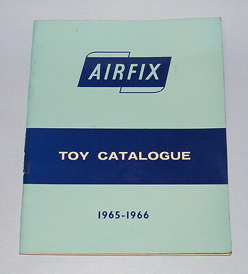 Airfix 1965-1966 Trade Only Toy Catalogue Slot Cars + Oo/ho Soldiers + Dolls Etc