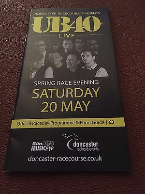 Doncaster race card, 20th May 2017