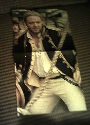 "RUSSELL CROWE - MASTER AND COMMANDER - Ad insert opens to 20 x 30"" poster- 2003"