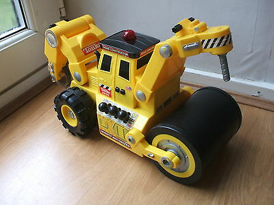 Tonka Toy3836 Truck Mighty Power Motorized Road Construction Vehicle Steamroller