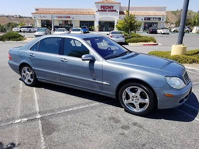2004 Mercedes-Benz S-Class  2004 MERCEDES-BENZ S500  FULLY LOADED 105K MILES VERY CLEAN